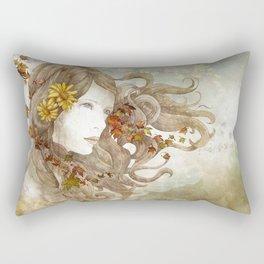 As Much as I Love Autumn Rectangular Pillow