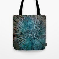 games Tote Bags featuring Water games by  Agostino Lo Coco