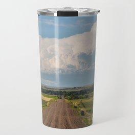 Summer Roads, Glasgow, Montana 5 Travel Mug