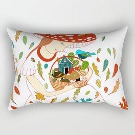 Autumn Women Rectangular Pillow