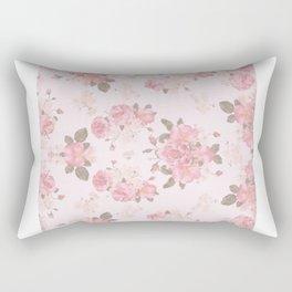 Rose Paper Rectangular Pillow