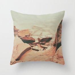 Prince Edward Island North Coast Throw Pillow