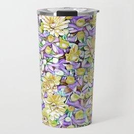 Lovely floral 31D Travel Mug
