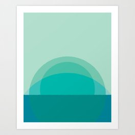 Cacho Shapes LXIV Art Print
