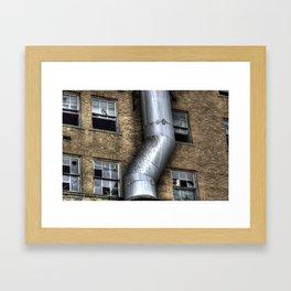 The Down Comer Framed Art Print
