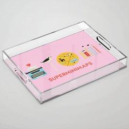 Superminimaps Acrylic Tray