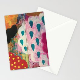 And the clouds are weeping Stationery Cards