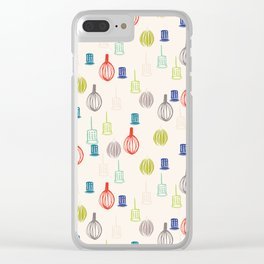 Whisked Away Clear iPhone Case