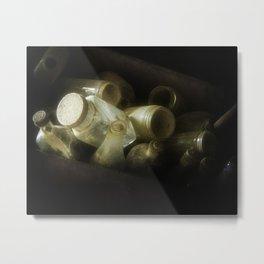 Bottles, Jugs and Jars Metal Print