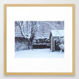 The Old Shed Framed Art Print