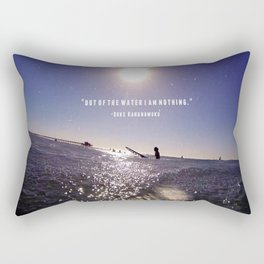 Water is Everything Rectangular Pillow