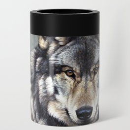 Timber Wolf by Alan M Hunt Can Cooler