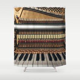 Piano inside Shower Curtain