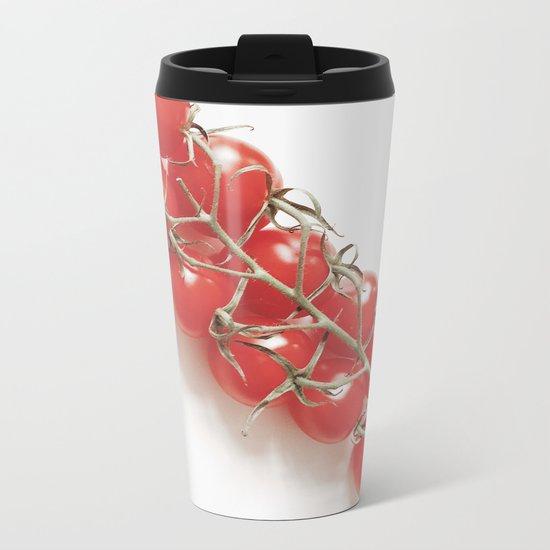Fresh Tomatoes Metal Travel Mug