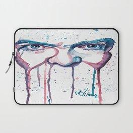 Bowie Watercolor  Laptop Sleeve
