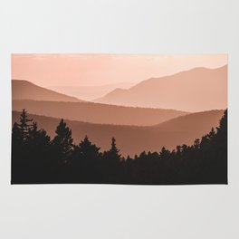 Lost in the Smoky Mountains Rug