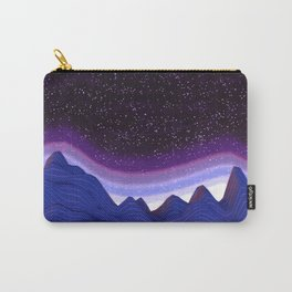 Mountains in Space Carry-All Pouch