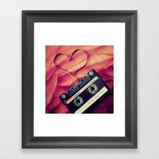 silly love songs Framed Art Print