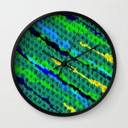 Pillow Knitt Wall Clock