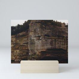 Pictured Rocks IV Mini Art Print