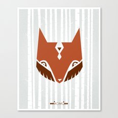 The Woods & Mr. Fox Canvas Print