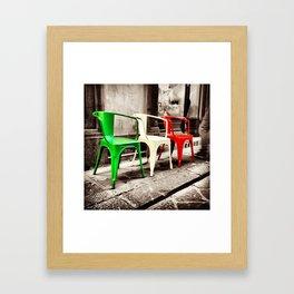 Si Si Italy Framed Art Print