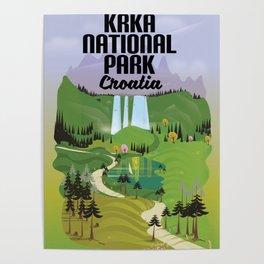 Krka National Park Poster