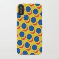 lichtenstein iPhone & iPod Cases featuring Wanna-Be Roy Lichtenstein Pattern #2 by Heidi Clifford