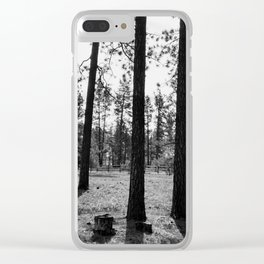 The Space Between Spaces Clear iPhone Case