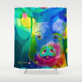 How Could I Forget You? Shower Curtain