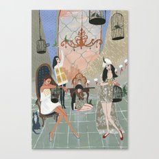 Castitas Canvas Print