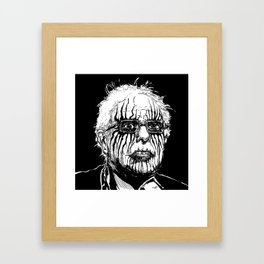 Feel The Bern Framed Art Print