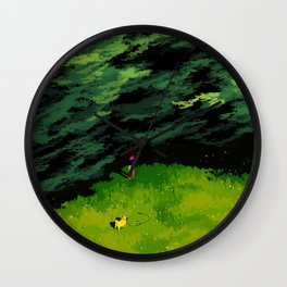The Old Maple Tree Whispered To Her That Everything Would Be Okay Wall Clock