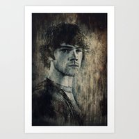 sam winchester Art Prints featuring Sam Winchester by Sirenphotos