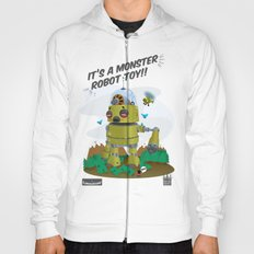 Monster robot toy Hoody