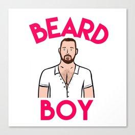 Beard Boy: Graeme Canvas Print