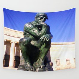"""Auguste Rodin's ....""""The Thinker"""" Wall Tapestry"""
