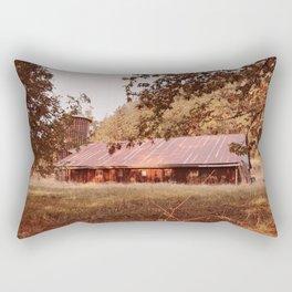 Hidden afternoon Rectangular Pillow