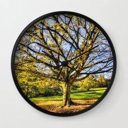 The Autumn Tree Wall Clock