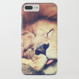 Sleeping Lion - for iphone iPhone Case
