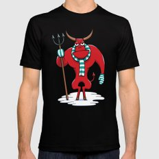 Cold Day in Hell Mens Fitted Tee Black SMALL