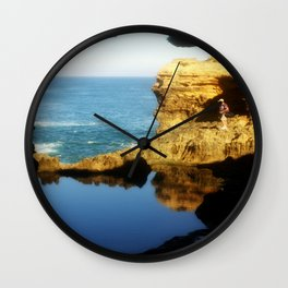 """Inside """"The Grotto"""" Looking Out! Wall Clock"""