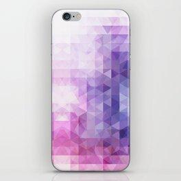 Enchanted geometry iPhone Skin