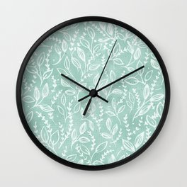 Add Spice to your Life: herb toss Wall Clock