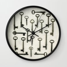 The Key Collection Wall Clock