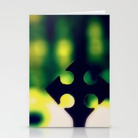 cross Stationery Cards featuring Cross by Leffan
