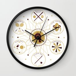 WORLDWIDE ASSOCIATION OF PHYSICAL EDUCATION Wall Clock