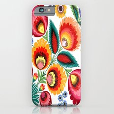 Slavic Folk Pattern Slim Case iPhone 6
