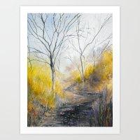 Dry Trail Art Print