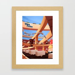 The Voice Factory Framed Art Print